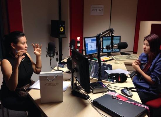 INTERVIEW @ 88.3FM
